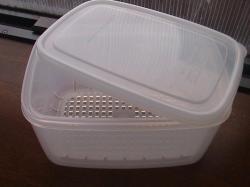 豆腐の水切 タッパー2