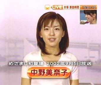 中野美奈子 女子アナ