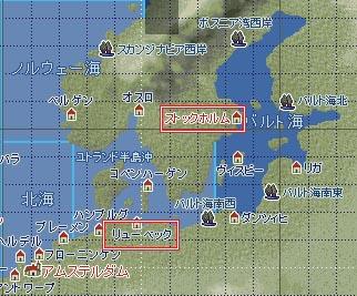 測量地図バルト海