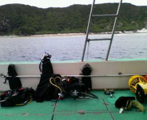kerama on boat 200804