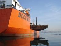 dockwise boat side