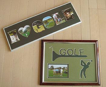 ゴルフ!ピクチャーフレーム