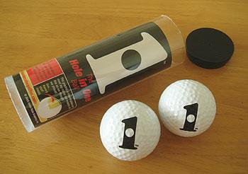 ホールインワン ゴルフボール!