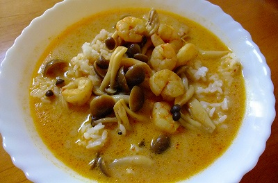 タイ風ココナッツカレー