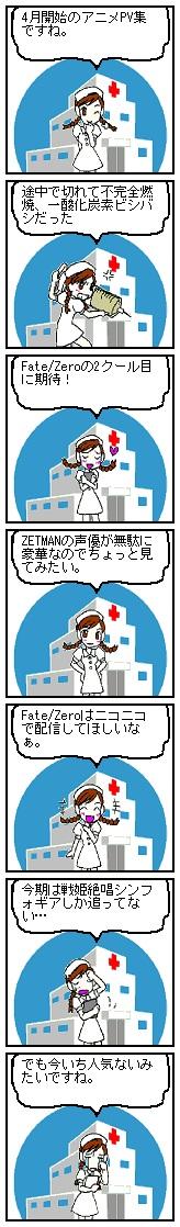 2012年春アニメPV