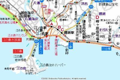 江ノ電地図