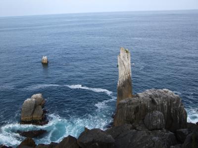巨釜 折石