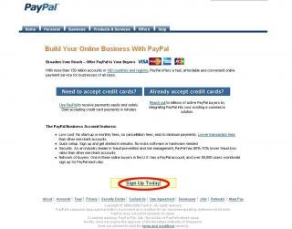 Paypal Start