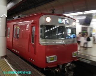 名鉄名古屋 到着する電車の撮影 5
