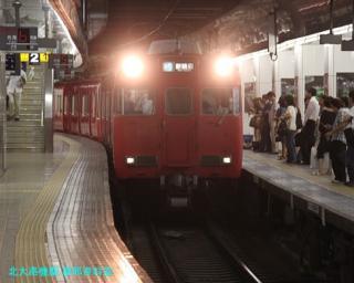 名鉄名古屋 到着する電車の撮影 7