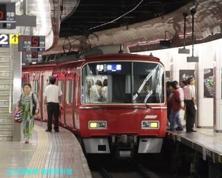 名鉄名古屋 到着する電車の撮影 9
