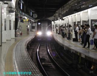 名鉄名古屋 到着する電車の撮影 10