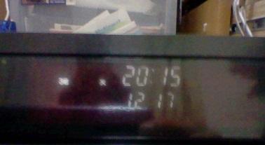 時計とカウンタ-を同時に表示できます