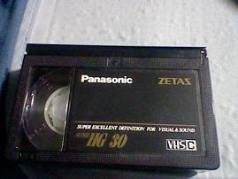 VHS-Cテ-プ