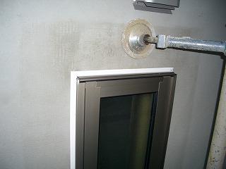 外壁工事 コーキング処理 1