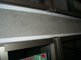 外壁工事 コーキング処理 2