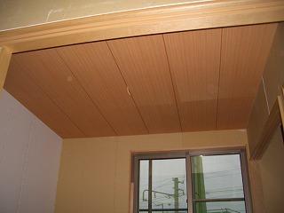 木工事 天井 和室