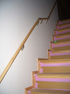 木工事 階段 手摺