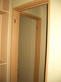 木工事 扉枠