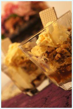 デザートの絶品アイス