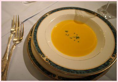 エスカーレ 栗かぼちゃスープ