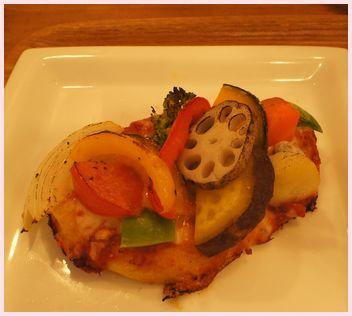 野菜のタルティーヌ