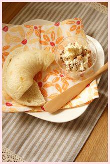 ベーグルクリームチーズサンド