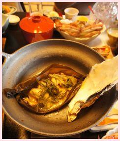 牡蠣ツアー 牡蠣の昆布包み焼き