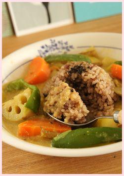 玄米カレースープ120130-3