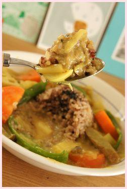 玄米カレースープ120130-2