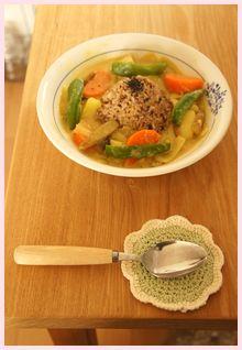 玄米カレースープ120130-1