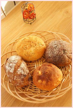 コムシノワのパン達