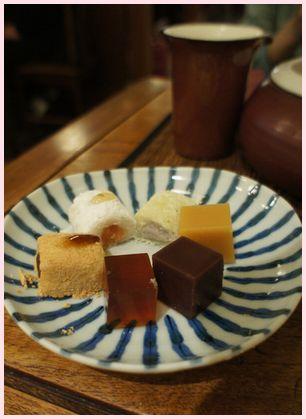 徳也茶喫 茶菓子1