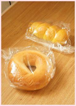 LOVES BAGELおまけのパン