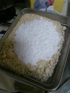 アーモンドプードル+粉糖
