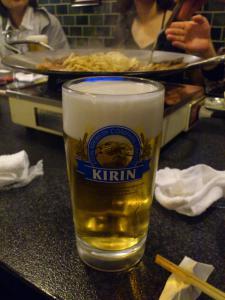 ここでビール!