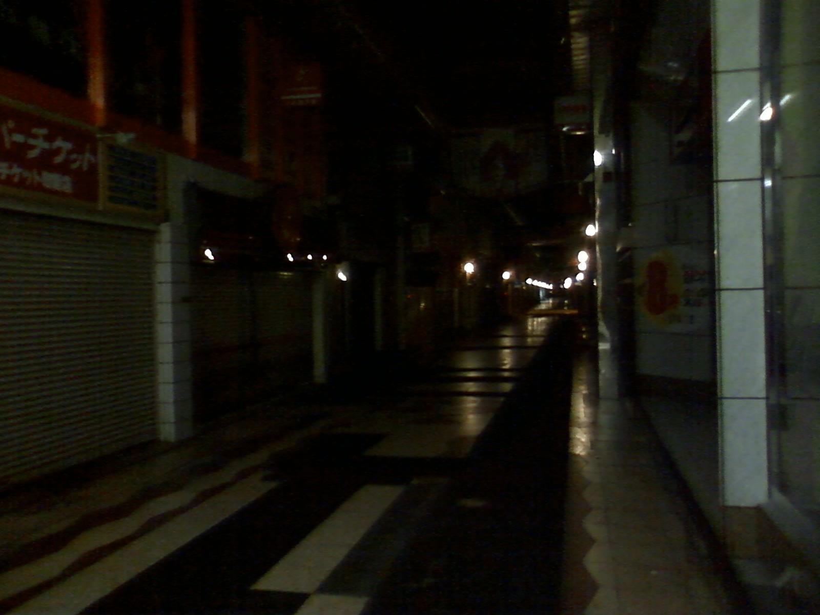 深夜の小倉にて・・・