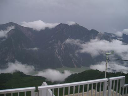 大観峰からの立山