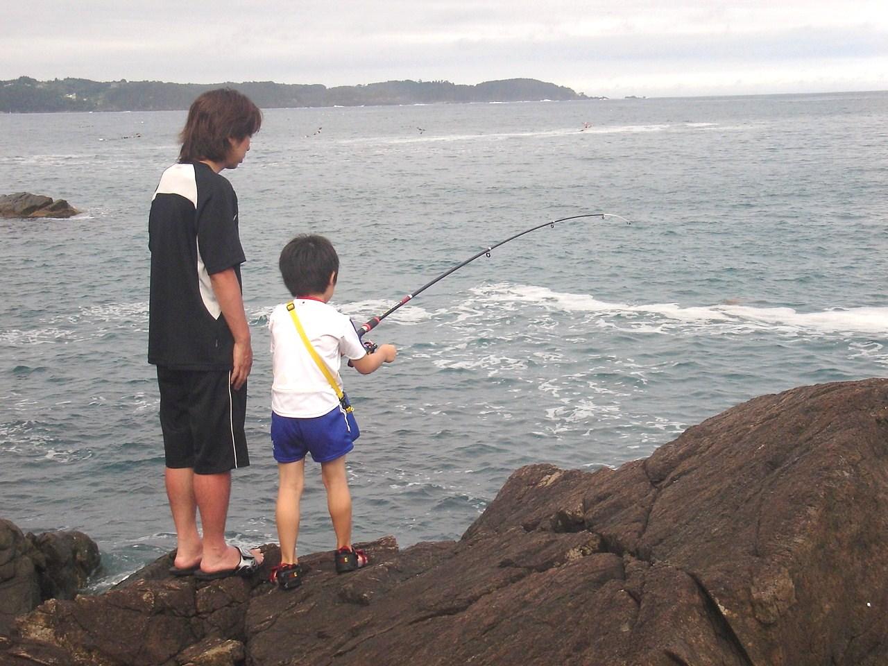 大島 釣り