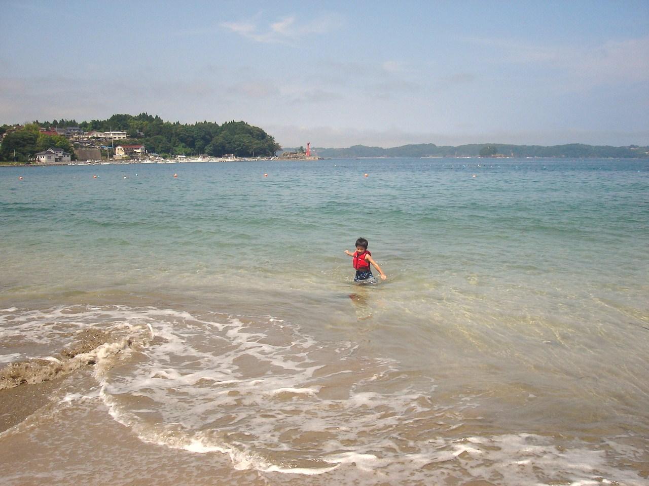 大島 綺麗な海