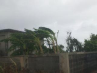 台風9号縮小