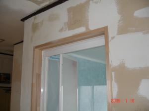 壁面の下地作り2