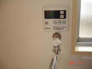 洗濯機用緊急止水弁付水栓