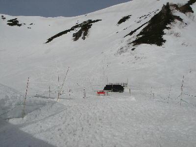 冬の駒ヶ岳神社