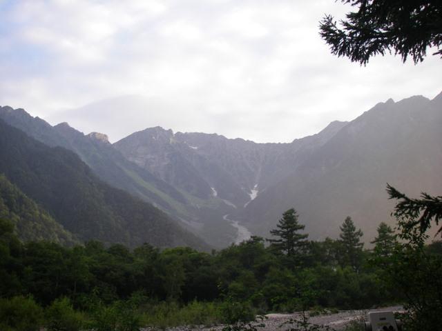 西穂高~奥穂高岳~岳沢H20.9.6~7 002-1