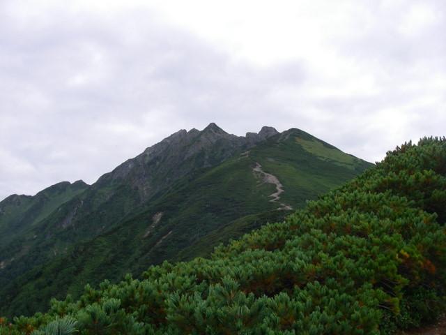 西穂高~奥穂高岳~岳沢H20.9.6~7 031-1