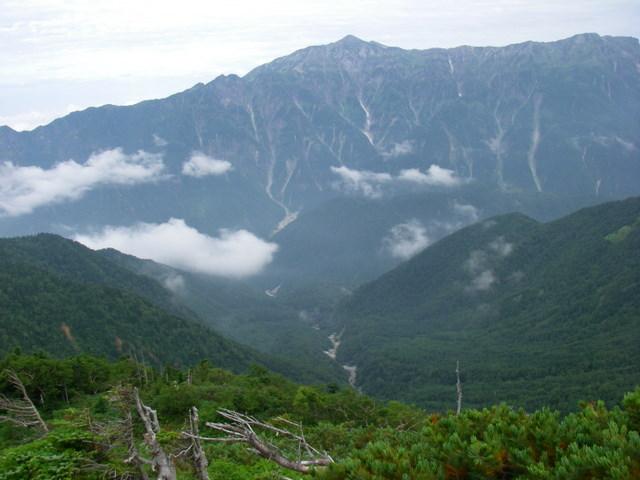 西穂高~奥穂高岳~岳沢H20.9.6~7 032-1