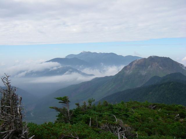 西穂高~奥穂高岳~岳沢H20.9.6~7 033-1