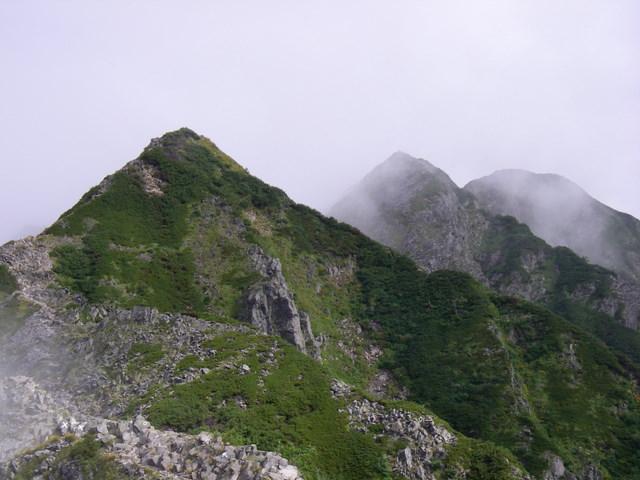 西穂高~奥穂高岳~岳沢H20.9.6~7 043-1