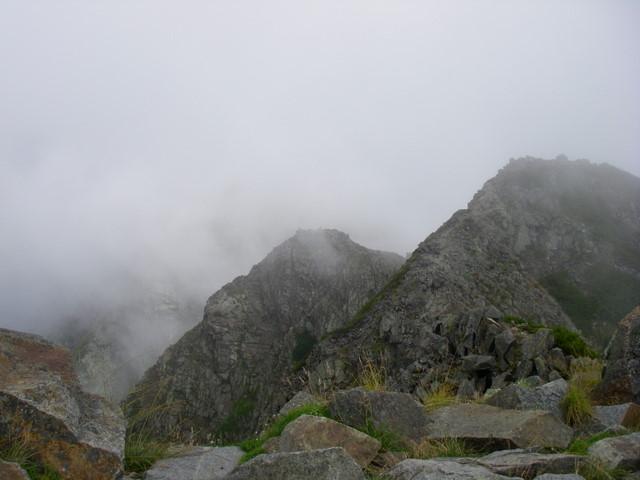 西穂高~奥穂高岳~岳沢H20.9.6~7 051-1